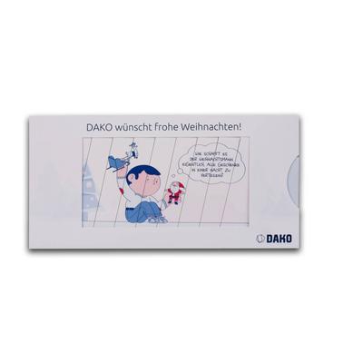 Bildwechselkarte DIN lang - Kreative Drucksachen - prägnant, wirksam, emotional