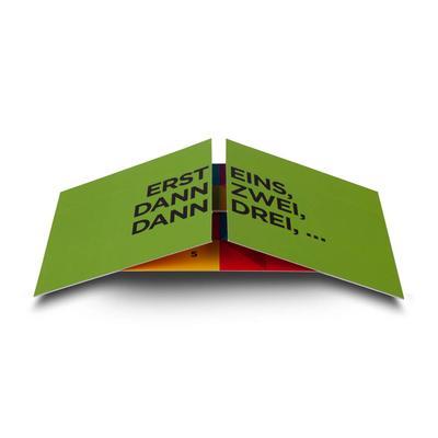 Endloskarte DIN lang - Lindner steht für Beratung - Kreation - Veredelung - Druck - Konfektionierung