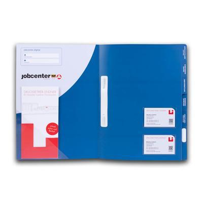 Registermappe für Jobcenter - Kreative Drucksachen - prägnant, wirksam, emotional