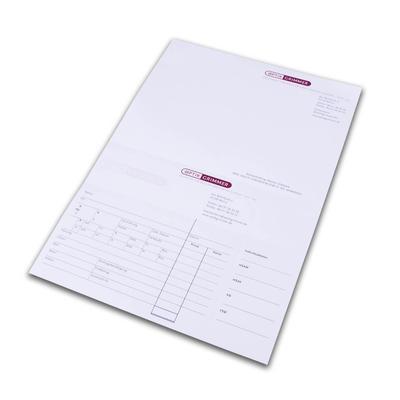 Multifunktionsbogen mit Mikroperforation - Kreative Drucksachen - prägnant, wirksam, emotional