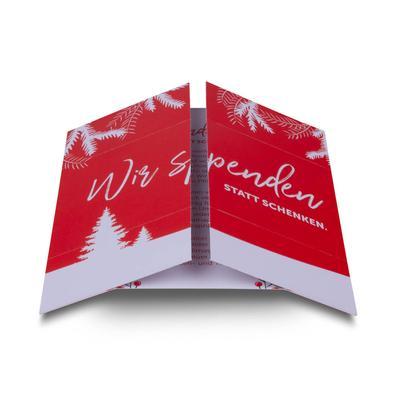 Magic Flyer - Endloskarte quadratisch - Kreative Drucksachen - prägnant, wirksam, emotional