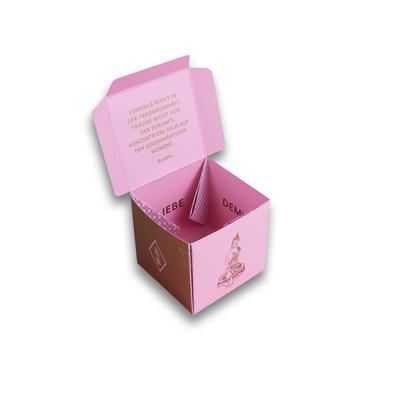 Würfelverpackung für Süßes - Individuelle Kreativprodukte beim Hersteller drucken lassen