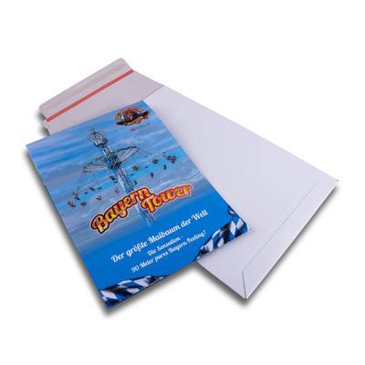 Versandtasche für Bewerbungsmappe - Kreative Drucksachen - prägnant, wirksam, emotional