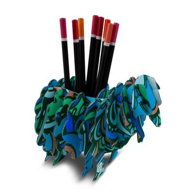 Stiftebox Schaf - Kreative Drucksachen dienen auch als Beratungsunterstützung und Produkterklärung
