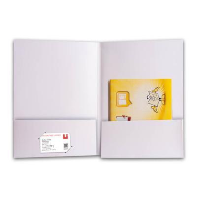 Jobcenter Mappe - Kreative Drucksachen - prägnant, wirksam, emotional