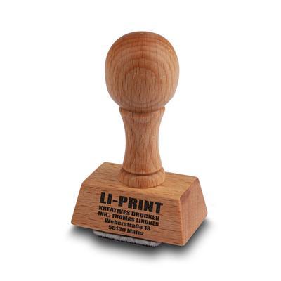 Holzstempel - Kreative Drucksachen - prägnant, wirksam, emotional