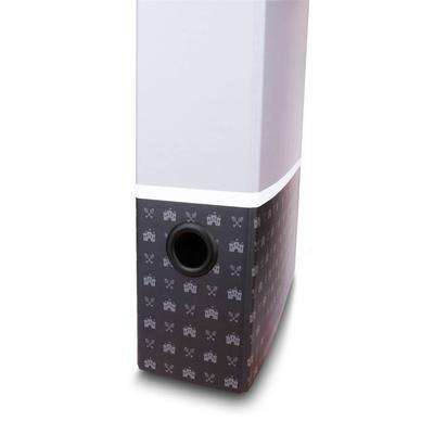 Grifflochringe aus Kunststoff, schwarz - Kreative Drucksachen - prägnant, wirksam, emotional