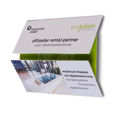 Mini Magic Flyer - Lindner bietet neben dem Standard auch ausgefallene Sonderformate an