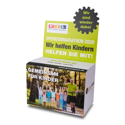 Gewinnspiel Box - Druckerei Lindner steht für: Kreative Drucksachen drucken, 3D -Pop-ups drucken,  Effektkarten drucken, Magic-Flyer drucken,Aufsteller drucken