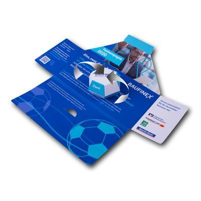 Mailing mit individuellem Springelement  - Lindner steht für Beratung - Kreation - Veredelung - Druck - Konfektionierung