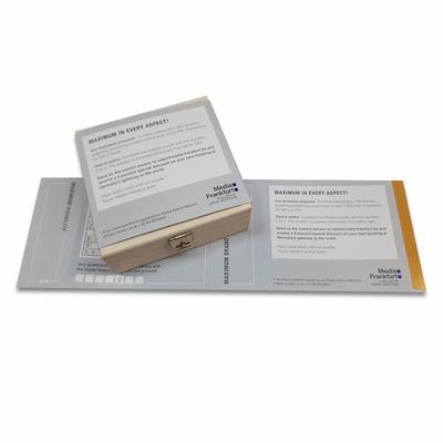 Banderole für Schachtel - Kreative Drucksachen - prägnant, wirksam, emotional