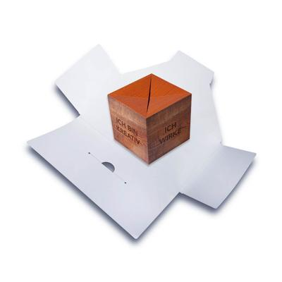 Springwürfel-Mailing - Lindner steht für Beratung - Kreation - Veredelung - Druck - Konfektionierung