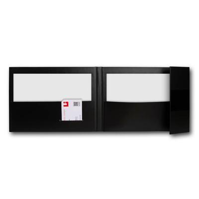 Einschubbox mit Kartontasche - Druckerei Lindner steht für: Ordner drucken, Ringordner drucken, Ringbücher drucken, Firmenordner drucken