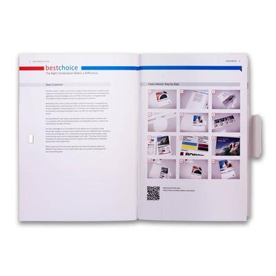 Produktportfolio mit Fächern - Ihr Mappenhersteller mit PREMIUM-RUNDUM-SERVICE