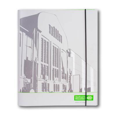 Dokumentenmappe mit 10-fach Registerunterteilung - Kreative Drucksachen - prägnant, wirksam, emotional