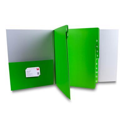 Bilanzmappe mit 12 Fächern - Kreative Drucksachen - prägnant, wirksam, emotional