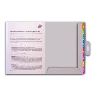 Angebotsmappe für Immobilienbüros - Kreative Drucksachen - prägnant, wirksam, emotional