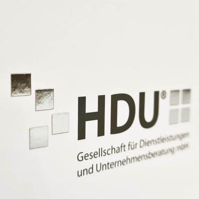 Silberne Heißfolie HDU