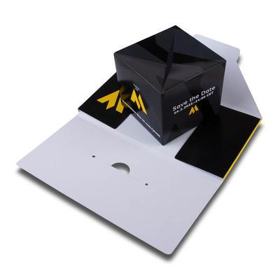 Mailing mit Springelement - Kreative Drucksachen dienen auch als Beratungsunterstützung und Produkterklärung