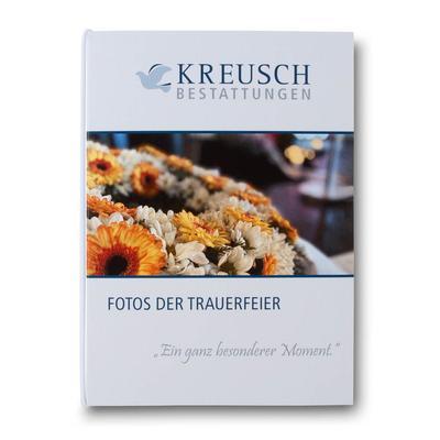 Fotomappe für Trauerfeier - Ihr Mappenhersteller mit PREMIUM-RUNDUM-SERVICE