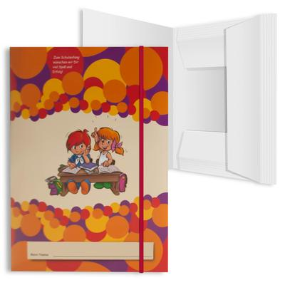 Schulmappe mit Gummizugverschluss - Ihr Mappenhersteller mit PREMIUM-RUNDUM-SERVICE