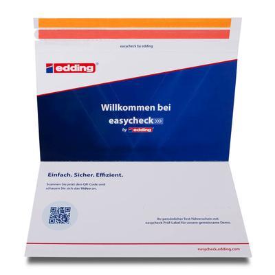 Wickel-Mailing mit Einsteckschlitzen für Karten  - Kreative Drucksachen dienen auch als Beratungsunterstützung und Produkterklärung