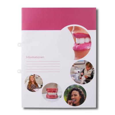 Informationsmappe für Zahnärtze - Ihr Mappenhersteller mit PREMIUM-RUNDUM-SERVICE