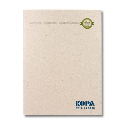 Schnellhefter aus Graspapier - Ihr Mappenhersteller mit PREMIUM-RUNDUM-SERVICE
