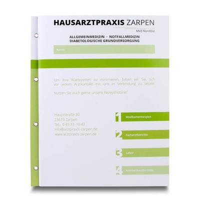 Praxismappe für Hausärzte - Ihr Mappenhersteller mit PREMIUM-RUNDUM-SERVICE