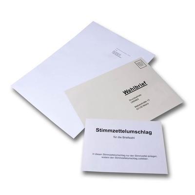 Wahlunterlagen für Betriebsratswahl - Originelle Drucksachen mit Garantie für Aufmerksamkeit