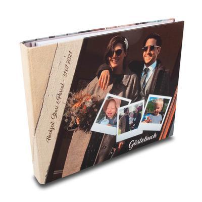 Gästebuch für Hochzeitsfeier - Individuelle Kreativprodukte beim Hersteller drucken lassen