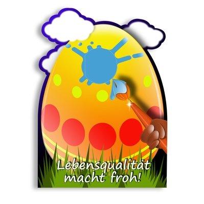 Osterkarte - Kreative Drucksachen - prägnant, wirksam, emotional