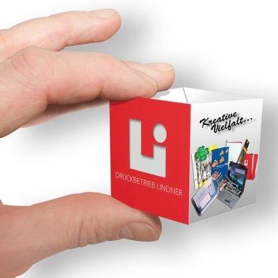 Visitenkarten Würfel - Kreative Drucksachen - prägnant, wirksam, emotional