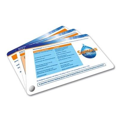 Fächerkarten - Produktfächer mit Buchschraube - Lindner steht für Beratung - Kreation - Veredelung - Druck - Konfektionierung