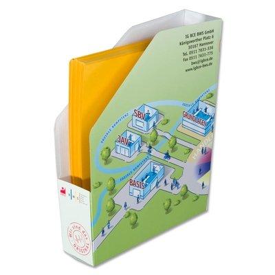 Stehsammler zum Stecken - Kreative Drucksachen - prägnant, wirksam, emotional