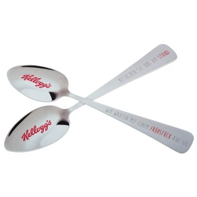 Kellogg's Löffel / Messe Give-away