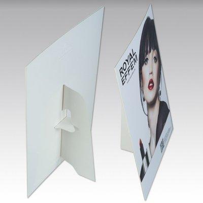 Aufsteller - Thekenaufsteller DIN A5 - Kreative Drucksachen - prägnant, wirksam, emotional