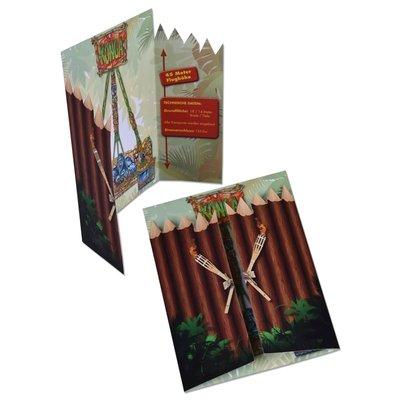 Konga Kreativflyer  - Kreative Drucksachen - prägnant, wirksam, emotional