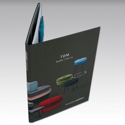 Stoffmuster-Mappe / Kollektionsmappen - Kreative Drucksachen - prägnant, wirksam, emotional