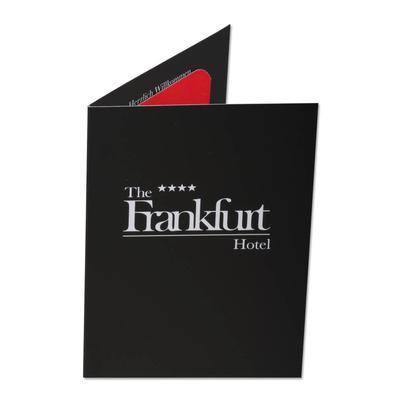 schwarze Hotelkeycard