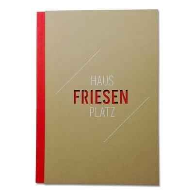 Notizbuch mit Klebebindung aus Braunpappe