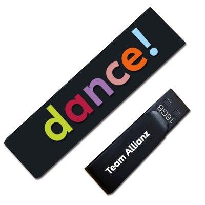 USB-Sticks mit UV-Farbe - Kreative Drucksachen - prägnant, wirksam, emotional