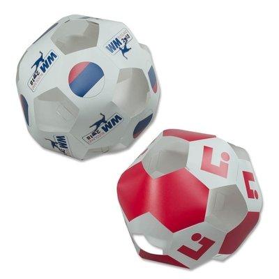 3D XXL-Fußball - Kreative Drucksachen - prägnant, wirksam, emotional