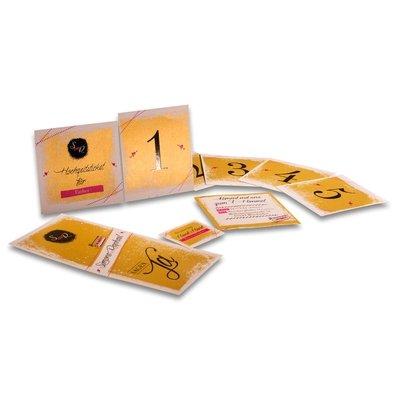 Hochzeitskarten auf Goldpapier - Kreative Drucksachen - prägnant, wirksam, emotional