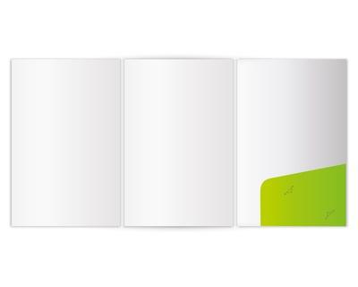 6-Seiten-Mappen mit Taschen