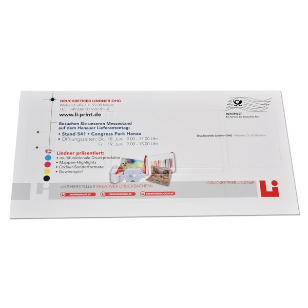 Mailing Sammelbox Visitenkarten