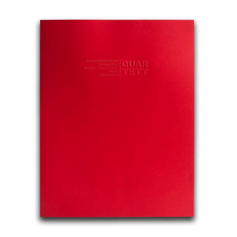 Titelseite rote Mappe