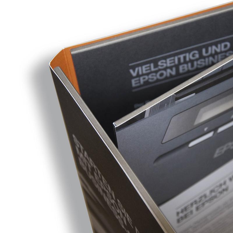 6 Seiten Mappe mit Magnet
