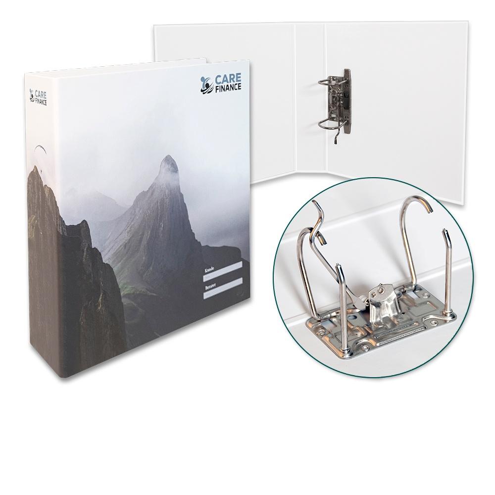 Hebelordner A4 - Der Druckbetrieb Lindner steht für: Rindbücher drucken