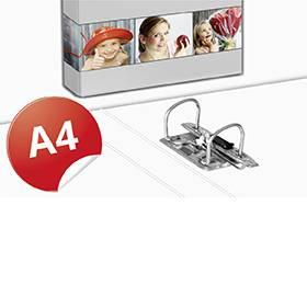 Hebelordner A4 - Beim Druckbetrieb Lindner werden individuelle Ordner, Boxen und Präsentationsunterlagen hergestellt